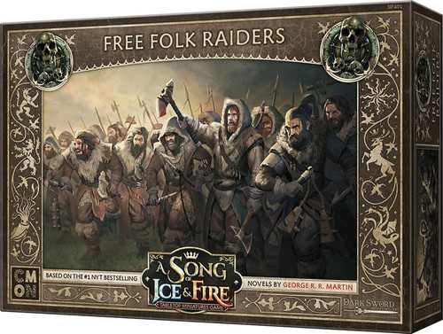 A Song of Ice & Fire Free Folk Raiders Unit Box Tabletop Miniatures Game