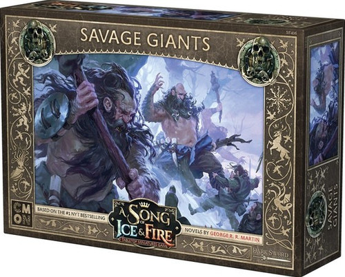 A Song of Ice & Fire Savage Giants Unit Box Tabletop Miniatures Game
