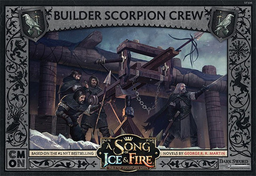 A Song of Ice & Fire Builder Scorpion Crew Unit Box Tabletop Miniatures Game