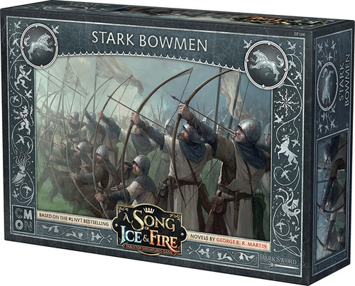A Song of Ice & Fire Stark Bowmen Unit Box Tabletop Miniatures Game