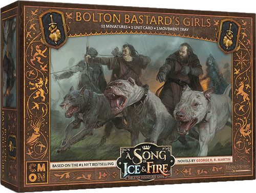 A Song of Ice & Fire Bolton Bastard's Girls Unit Box Tabletop Miniatures Game