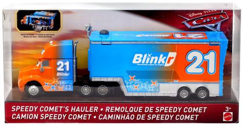 Disney / Pixar Cars Cars 3 Speedy Comet's Hauler Diecast Car [Version 1]