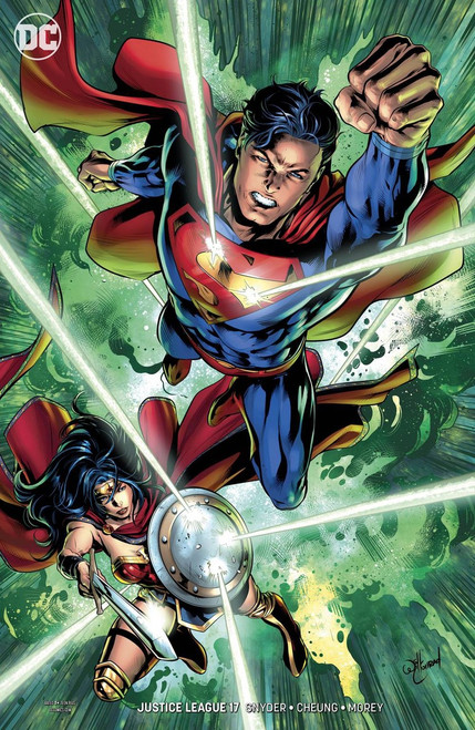 DC Justice League #17 Comic Book [Conrad Variant]
