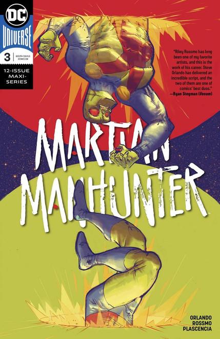 DC Martian Manhunter #3 of 12 Comic Book