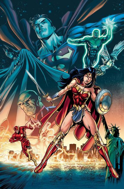 DC Justice League #18 Comic Book [Conrad Variant]