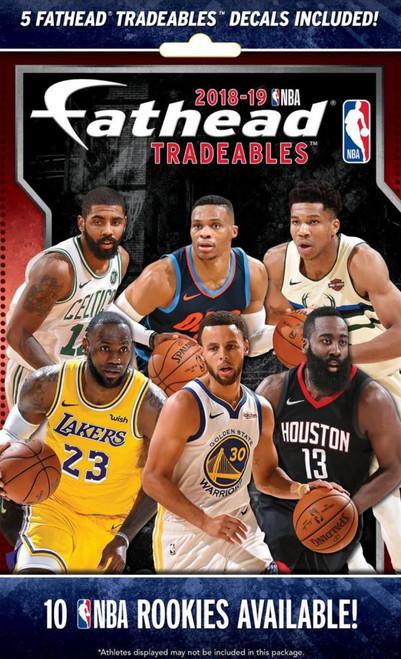 NBA 2018-19 Basketball Tradeables Mystery Pack [5 Vinyl Decals]