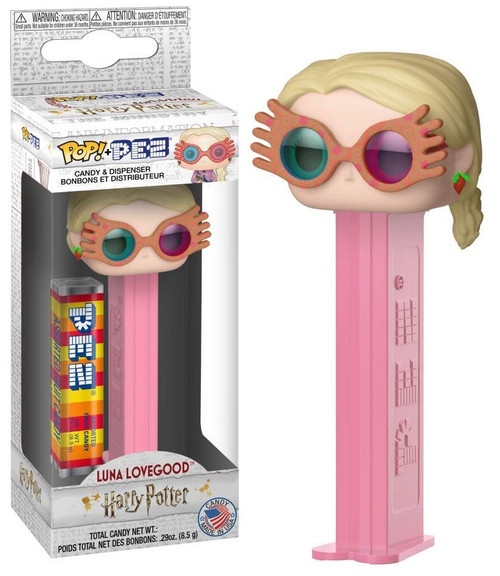 Funko Harry Potter POP! PEZ Luna Lovegood Candy Dispenser [with Spectra Specs]