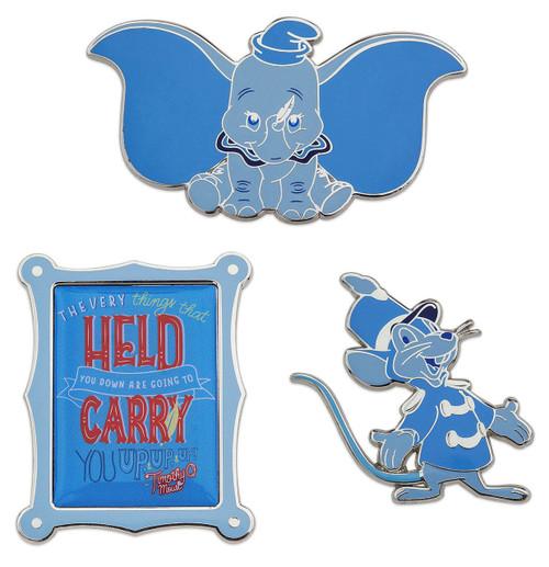 Disney Wisdom Dumbo Exclusive Pin Set #1/12