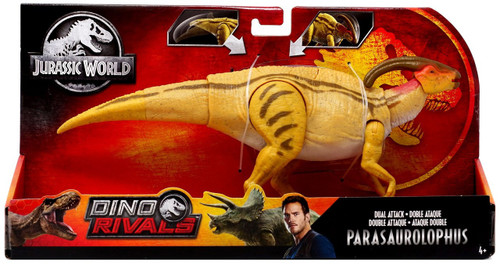 Jurassic World Fallen Kingdom Dino Rivals Parasaurolophus Action Figure [Dual Attack]