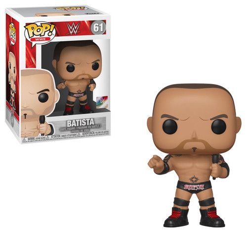 Funko WWE Wrestling POP! Sports Batista Vinyl Figure #61