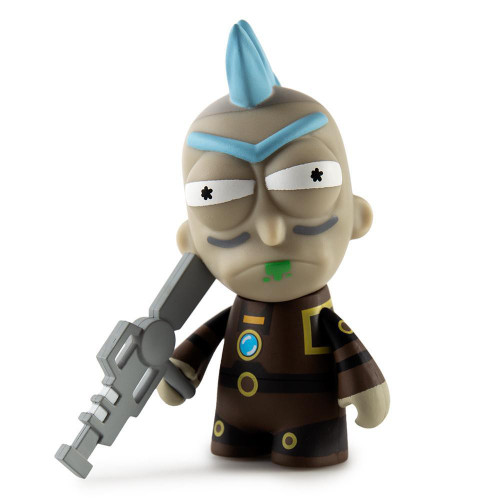 Adult Swim Rick & Morty Series 2 Seal Team Rick 3-Inch 1/24 Mystery Minifigure [Loose]