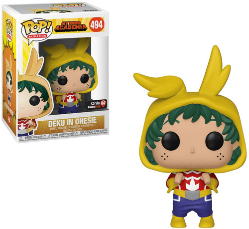 Funko My Hero Academia POP! Animation Deku in Onesie Exclusive Vinyl Figure #494