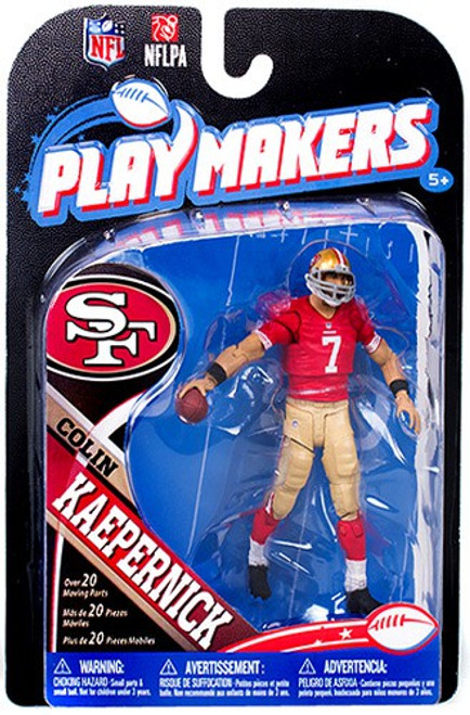 McFarlane Toys NFL San Francisco 49ers Playmakers Series 4 Colin Kaepernick Action Figure [Damaged Package]