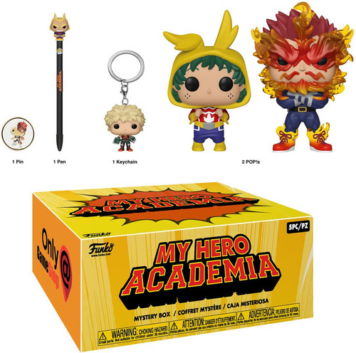 Funko My Hero Academia Exclusive Box