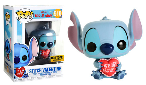 Funko Lilo & Stitch POP! Disney Stitch Valentine Exclusive Vinyl Figure #510