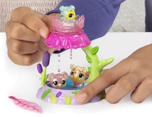 Hatchimals Colleggtibles Season 5 Mermal Magic Flower Shower Playset