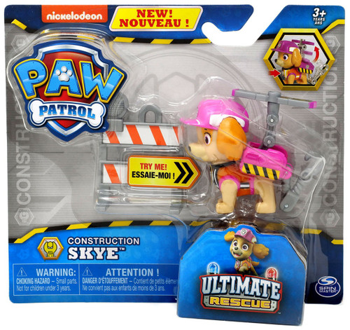 Paw Patrol Ultimate Rescue Construction Skye Figure