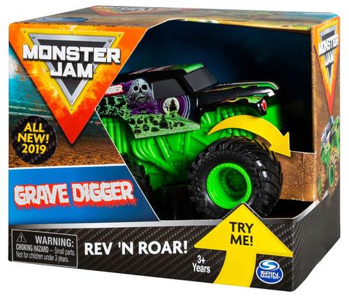 Monster Jam Rev 'N Roar Grave Digger Vehicle