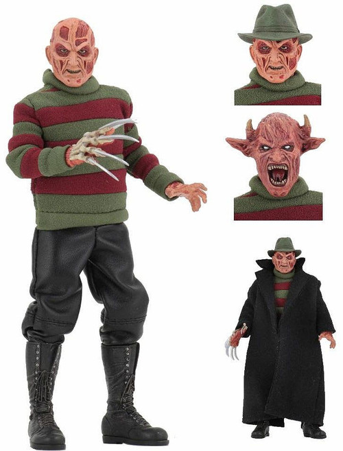 NECA Nightmare on Elm Street Wes Craven's New Nightmare Freddy Krueger Clothed Action Figure
