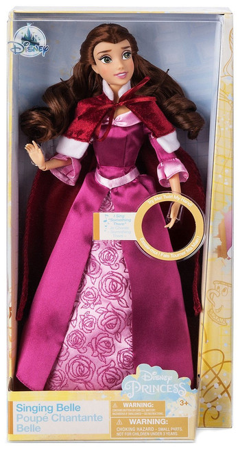 Disney Princess Beauty and the Beast Belle Exclusive 11.5-Inch Singing Doll