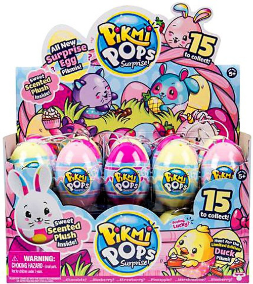 Pikmi Pops Surprise! Series 4 Easter Egg Mystery Box [30 Packs]