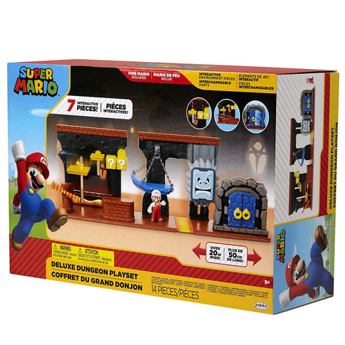 World of Nintendo Super Mario DELUXE Dungeon Playset