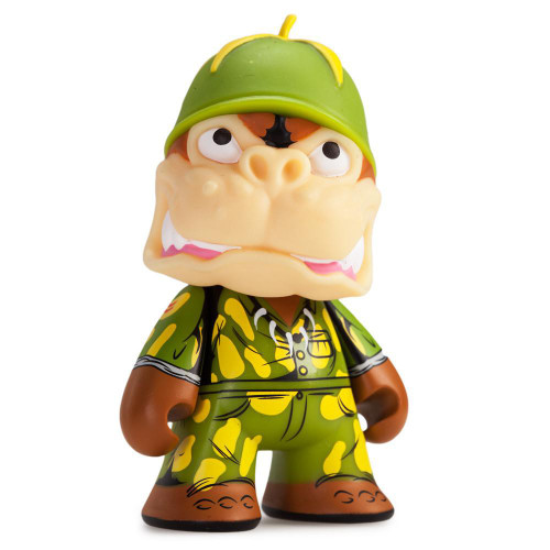 Teenage Mutant Ninja Turtles Shell Shock Sergeant Bananas 3-Inch 1/20 Mystery Minifigure [Loose]