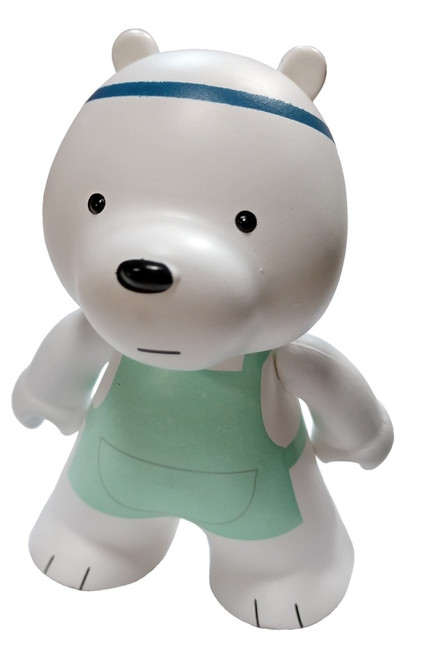 Cartoon Network Originals Ice Bear Exclusive 3-Inch 1/18 Vinyl Mini Figure [Cooking Outfit Loose]