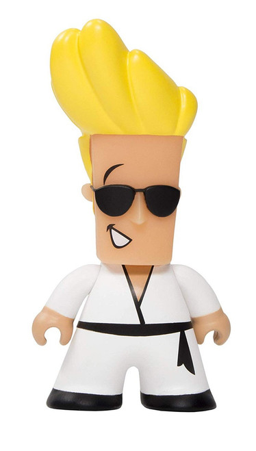 Cartoon Network Originals Johnny Bravo 3-Inch 1/18 Vinyl Mini Figure [Loose]