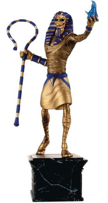 Iron Maiden: Legacy of the Beast Pharaoh Eddie 13-Inch Statue [Gold Idol]