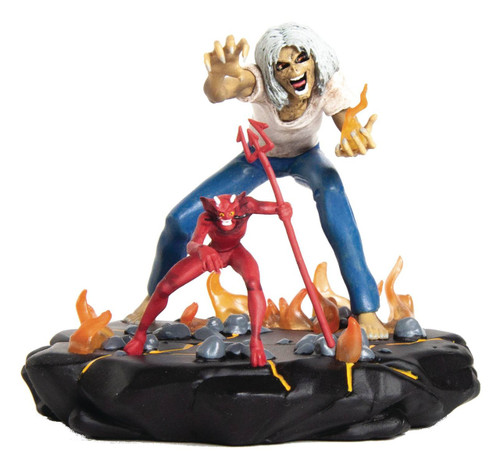 Iron Maiden: Legacy of the Beast Number of the Beast Eddie 4-Inch Collectible PVC Figure