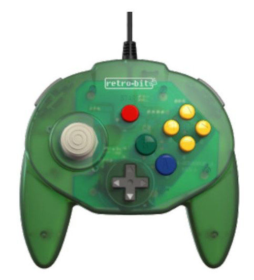 Retro-Bit Tribute64 USB N64 Connector Controller [Forest Green]