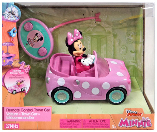 Disney Junior Minnie Mouse Remote Control Town Car Exclusive [Damaged Package]