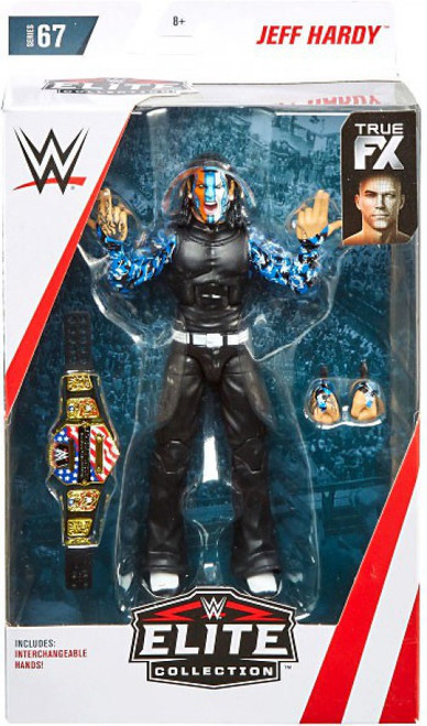 WWE Wrestling Elite Collection Series 67 Jeff Hardy Action Figure