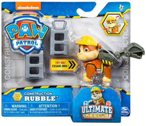 Paw Patrol Ultimate Rescue Construction Rubble Figure