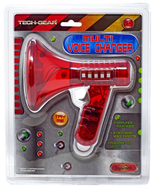 Tech-Gear Red Multi Voice Changer