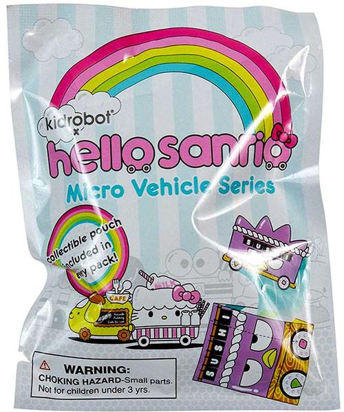 Hello Sanrio Micro Vehicle 1.5-Inch Mystery Pack [1 RANDOM Figure]