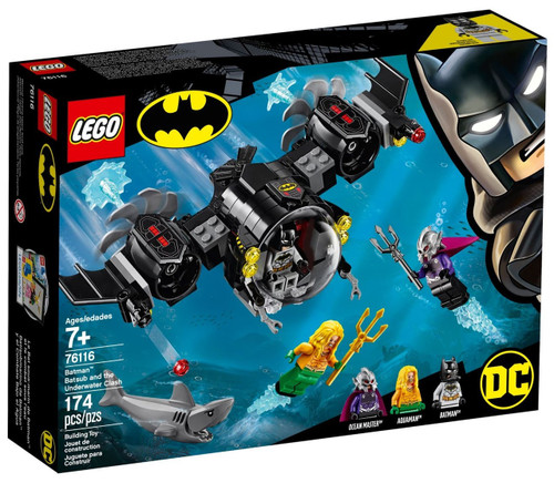 LEGO DC Batman Batsub & the Underwater Clash Set #76116