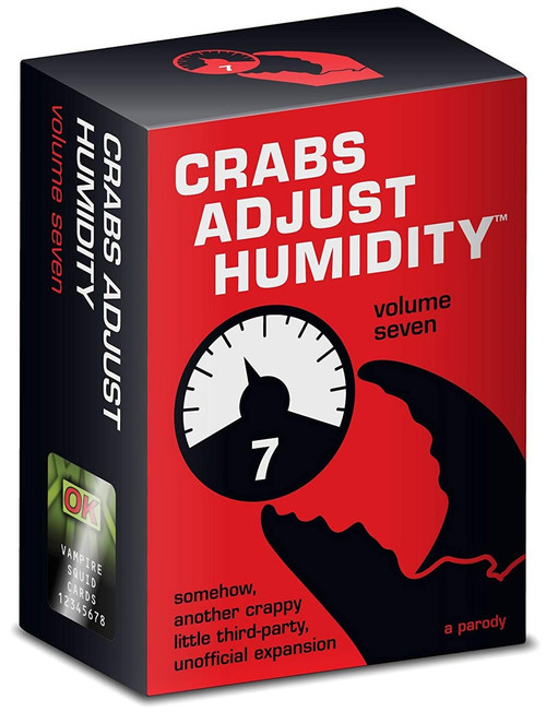 Crabs Adjust Humidity Card Game Expansion [Volume 7]
