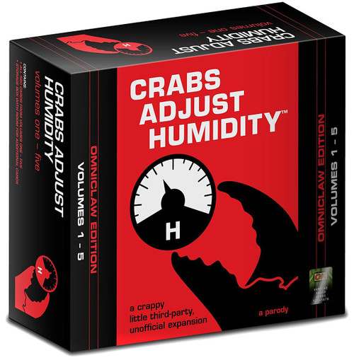 Crabs Adjust Humidity Omniclaw Edition Volume 1 - 5 Card Game Expansion