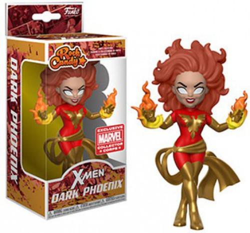 Funko Marvel X-Men Rock Candy Dark Phoenix Exclusive Vinyl Figure [X-Men Box]