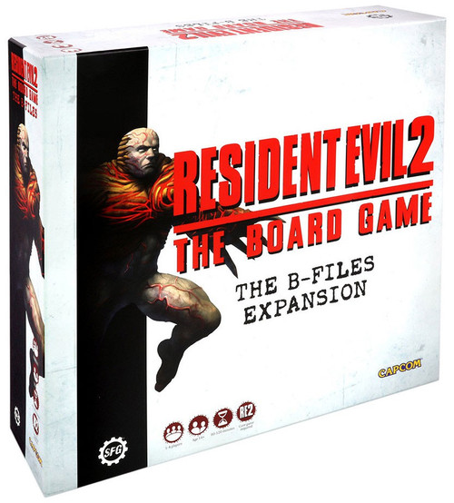 Resident Evil 2 The B-Files Board Game Expansion
