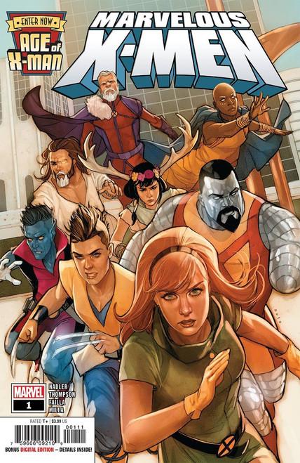 Marvel Comics Age of X-Men: Marvelous X-Men #1 Comic Book