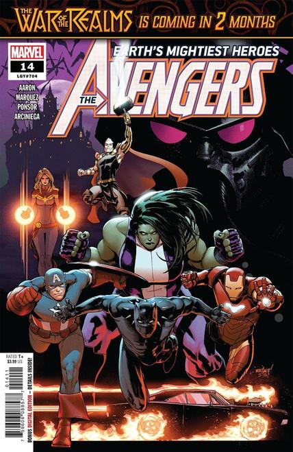 Marvel Comics Avengers #14 Comic Book