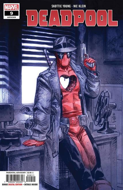 Marvel Comics Deadpool #9 Comic Book