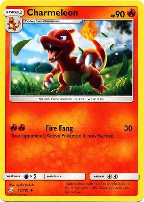 Pokemon Trading Card Game Team Up Uncommon Charmeleon #13