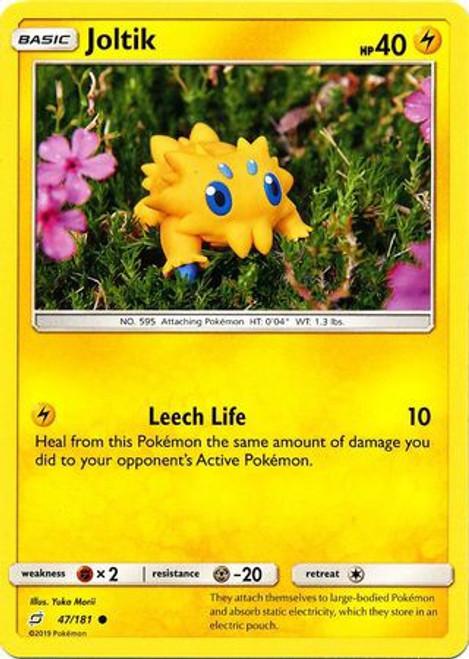 Pokemon Trading Card Game Team Up Common Joltik #47