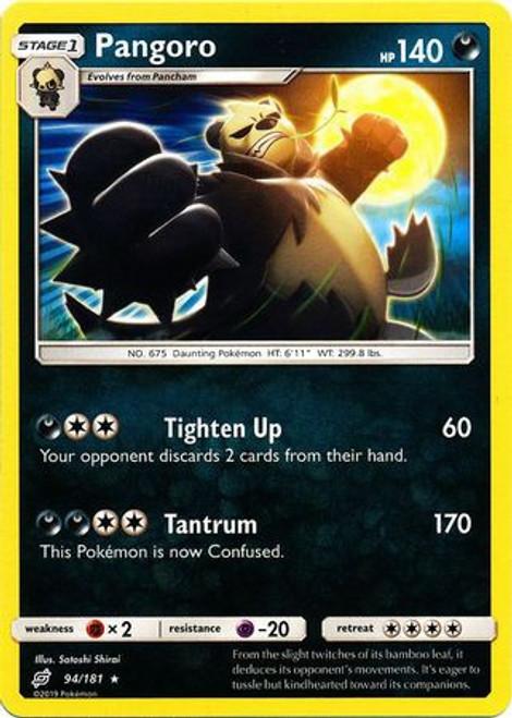 Pokemon Trading Card Game Team Up Rare Pangoro #94