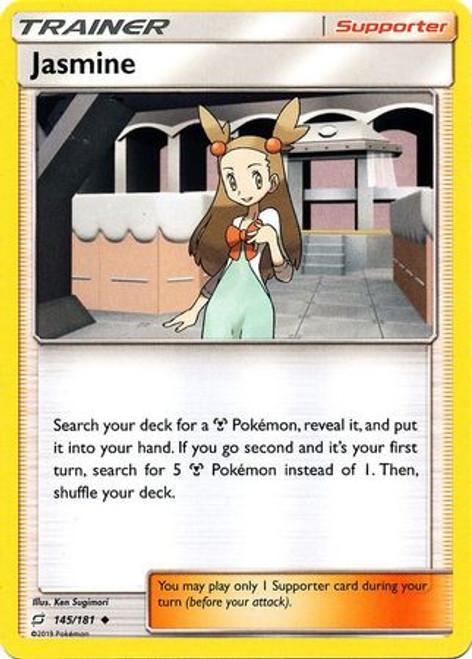Pokemon Trading Card Game Team Up Uncommon Jasmine #145