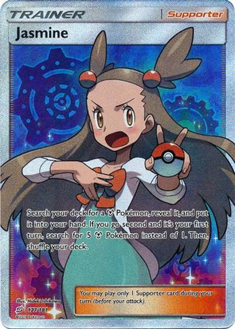 Pokemon Trading Card Game Team Up Ultra Rare Jasmine #177